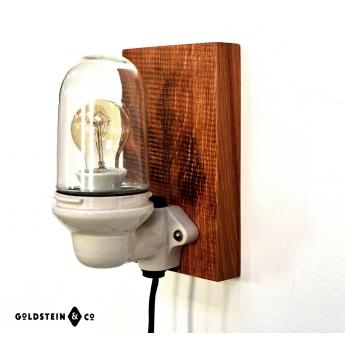 Porzelanleuchte für Wand oder Tisch