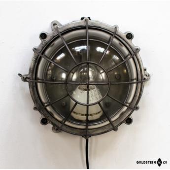 Runde Bunkerlampe