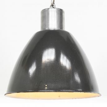 Tschechische Emaillelampe