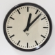 Große Bakelit Uhr von Pragotron