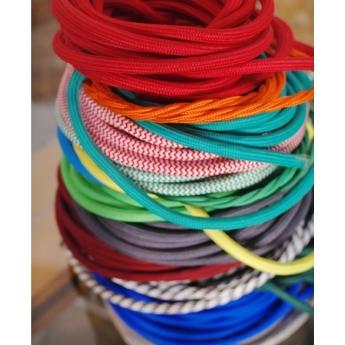 Textilkabel 3-adrig