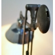 Upcycling Schreibtischlampe aus Maschinenteilen