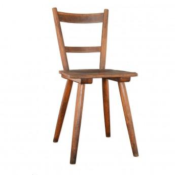 Werkstattstuhl aus Holz