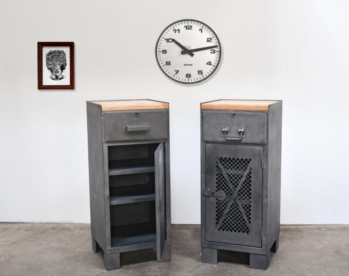 Zwei Werkstattschränke aus den 60er/70er Jahren